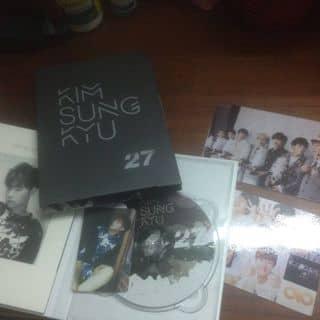 Album 27 Kim Sung Kyu mới 86% còn nguyên card và vỏ của hanun tại Hồ Chí Minh - 1512256