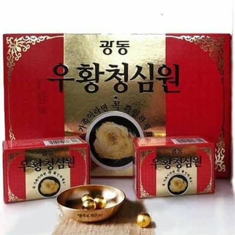 An cung ngưu hoàng Hàn quốc - Hộp đỏ - 5459762 hienthu521 - Phú Thọ ®