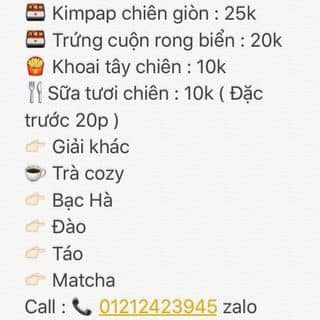Ăn vặt của 012346267 tại Ngã Tư Bến Đình, Thành Phố Vũng Tàu, Bà Rịa - Vũng Tàu - 1000275