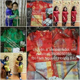 Áo dài gấm cho bé của nguyenhoangbaotam tại Hồ Chí Minh - 1449450