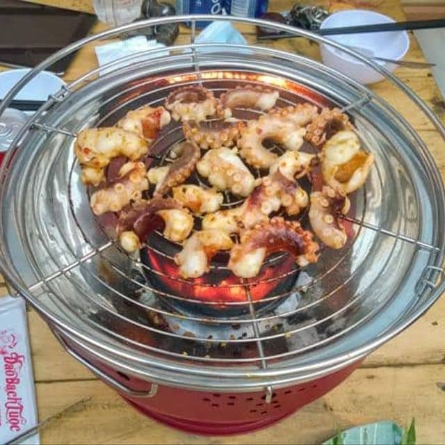 Bạch tuộc nướng sa tế của Sai SaiTouya tại Đảo Bạch Tuộc - Bia Tuyết & Bạch Tuộc Nướng - 66622