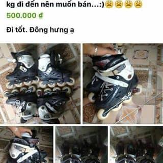 Bán giày patin cho ai có niềm đam mê của huaxongquen tại 179 Trần Thái Tông,  Trần Hưng Đạo, Thành Phố Thái Bình, Thái Bình - 988118