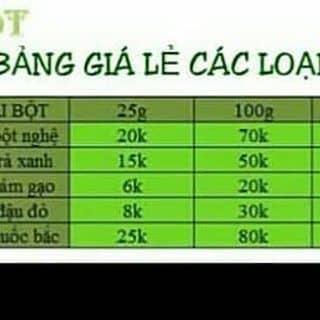 Bán tinh bột & các loại mặt hàng online của bitung11 tại Lâm Đồng - 1731341