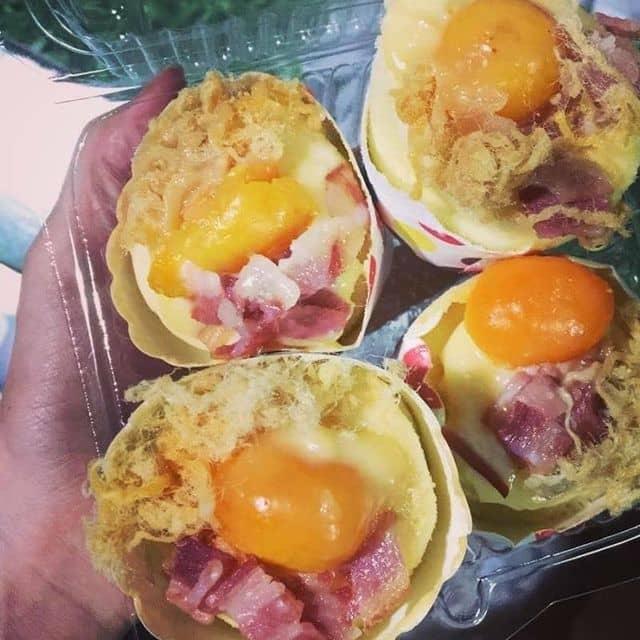 Bánh bông lan phô mai trứng muối của Mai Ka tại Quán Ăn Maika - Nguyễn Trãi - 84437