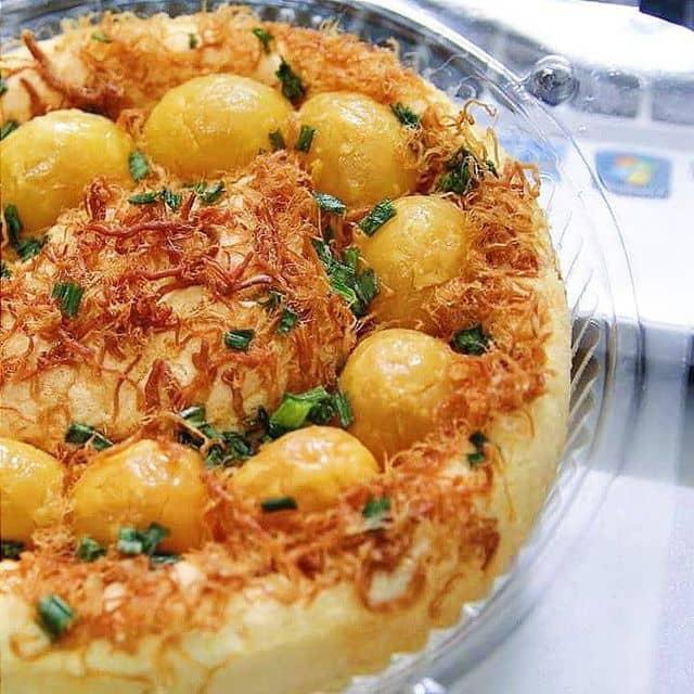 Bánh bông lan trứng muối của Tuyen Nguyen tại Mọi Mọi Sả Gừng - 48562