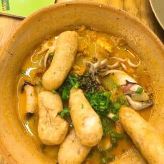 Bánh canh tôm tít hải sản của pu tại 257B Nguyễn Trãi, Nguyễn Cư Trinh, Quận 1, Hồ Chí Minh - 3480972