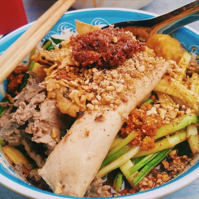 Bánh đa trộn của Minh Thu tại Miến trộn - Dốc Tam Đa - 89099