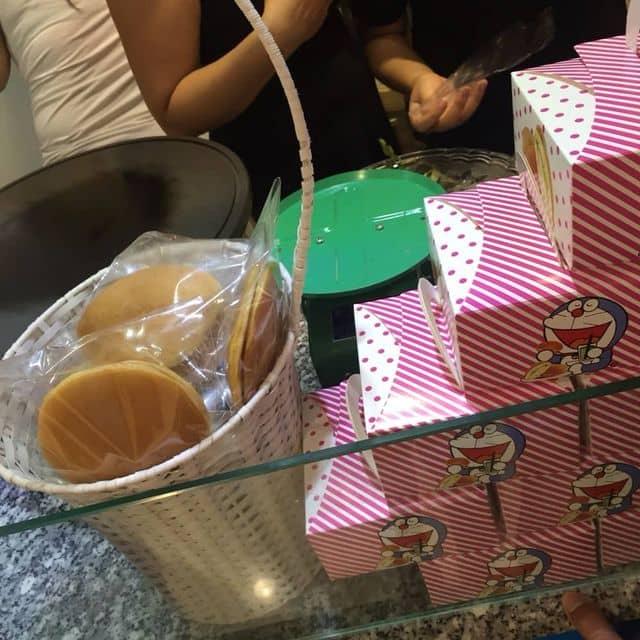 Bánh dorayaki của meomeo Quỳnh tại Hana Dorayaki & Tofu - Nowzone - 365427