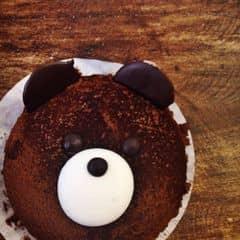 Quả đầu gấu này to vãi. Mà ko thích ăn cái bột cacao rắc ở ngoài, nó cứ lạo xạo xong ăn cứ sợ bị dính vào răng lol. Cũng ngon, cơ mà cũng đắt T___T