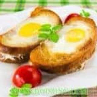 Bánh mì trứng thịt xông khói cùng nấm của vitdung1 tại Kiot 4, Kim Ngọc, Thành Phố Vĩnh Yên, Vĩnh Phúc - 898780