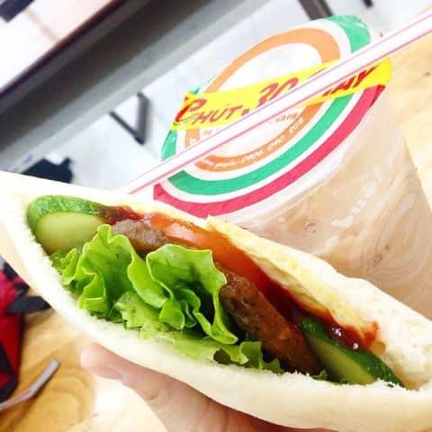 Bánh pita - 1098888 ththaolam - 1 Phút 30 Giây - Xe Bánh Mì - 2B