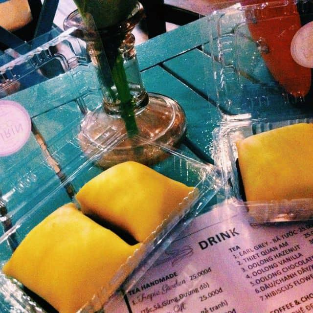 Bánh sầu riêng của Trânn Min tại Furin - Chuông Gió Cafe - 74505