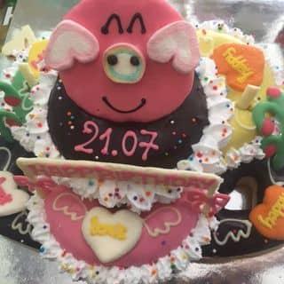 Bánh sinh nhật Donut 🍰🍰🍰 của tieumanu217 tại 210 Hai Bà Trưng, Quận 1, Hồ Chí Minh - 1055629