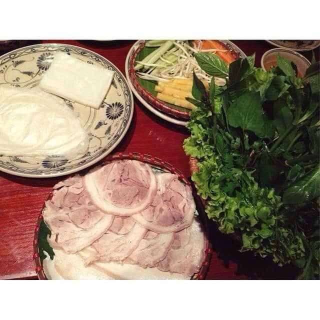 Bánh tráng cuốn thịt heo của Ngọc Ánhh tại Bánh tráng thịt heo Yết Kiêu - 31880