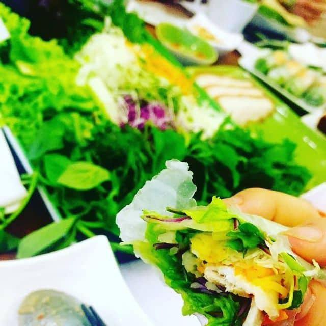 Bánh tráng cuốn thịt heo của Giang Triệu tại Nhà hàng Cuốn N Roll Giảng Võ - 97244