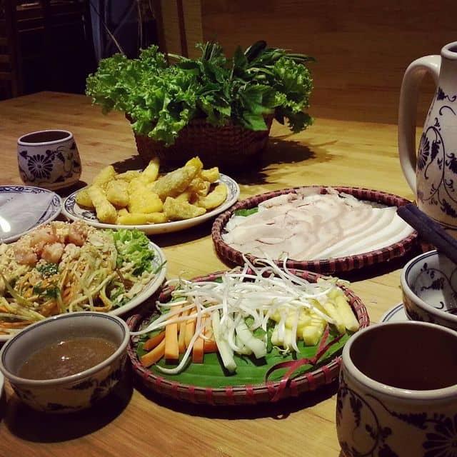 Bánh tráng cuốn thịt heo của Tiên Trịnh tại CÒ QUÁN -Bánh tráng cuốn thịt heo - 99714