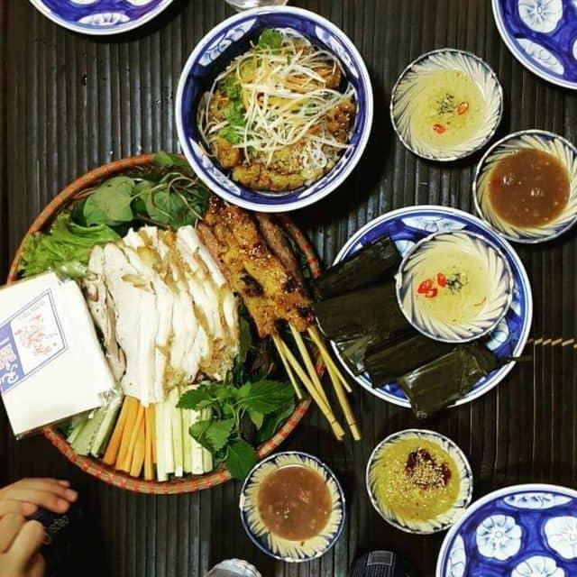 Bánh tráng cuốn thịt heo, thịt xiên nướng, bún mắm của Trần Thủy Tiên tại Lai Cuisine - Ẩm thực Đà Nẵng - 100648