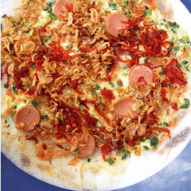 Bánh tráng nướng của Nguyễn Linh tại Trên đường Phan Kế Bính, đầu ngõ đối diện cái nhà hàng j đẹp đẹp ý =))) gần trg phạm hồng thái - 56174