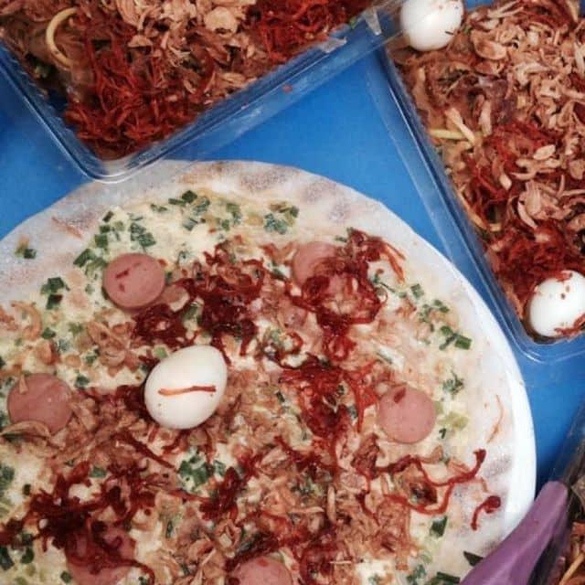 Bánh tráng trộn + nướng của Minhh Châuu tại Chợ Kim Mã Thượng - 89098