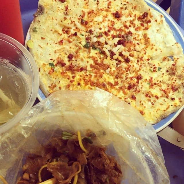 Bánh tráng trộn-nướng của Phanh oli tại Bánh tráng nướng - Hàng Tre - 90159