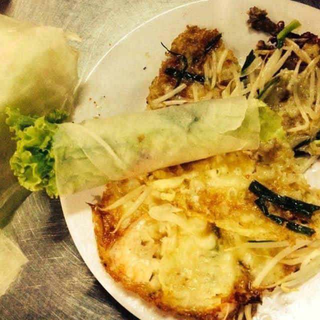 Bánh xèo bò của Tuyết tại Bánh Xèo Tôm Nhảy Thanh Diệu - Nguyễn Thị Nhỏ - 12673