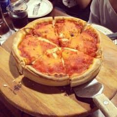 Beef pizza + meatball spagetti + salat của Hi Hi Vy tại Cowboy Jack's American Dining - Hoàng Đạo Thúy - 68721