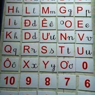 Bộ 40 thẻ chữ cái và số của tantan59 tại Bắc Ninh - 1458292