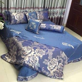 Bộ ga gối gấm lụa mua chung giá 1750 giá gốc 6190 hàng singapore của oriondkny tại Lào Cai - 934371