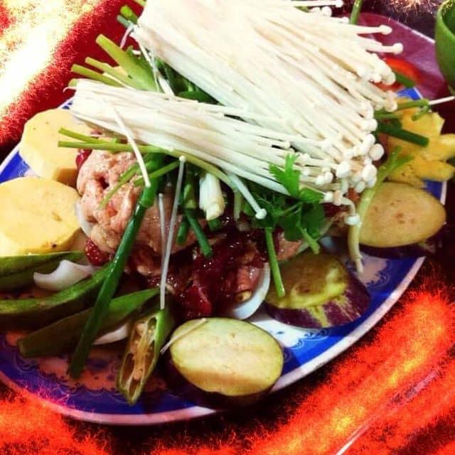 Bò nầm nướng- lẩu riêu cua sườn sụn cô Hà  của Nguyễn Hương Giang tại Quán Lẩu Phong Béo - 106124
