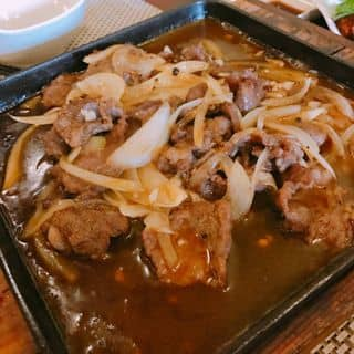 Bò sốt tiêu đen + Bánh mì của ilu.chiuchiu.7 tại 22F Minh Khai, Hoàng Văn Thụ, Quận Hồng Bàng, Hải Phòng - 3891889