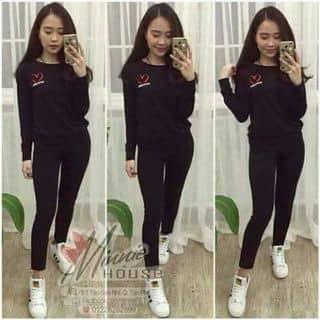 Bộ tim thêu quần xuông của phamhien92 tại Quảng Ninh - 1464892