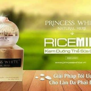 Body sữa gạo princess white của tamthanh446 tại Quang Trung, Thành Phố Thái Bình, Thái Bình - 3387940