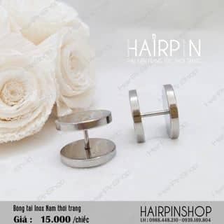 Bông tai Inox Nam thời trang của hairpinshop tại An Giang - 1421007