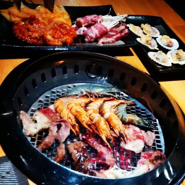 Buffe nướng lẩu của Hà Mã Thon Thả tại Hana BBQ & Hot Pot Buffet - Mạc Đĩnh Chi - 73143
