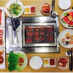 Buffet lẩu và nướng : ngon bổ rẻ, món ăn kèm đa dạng, hấp dẫn. Xứng đáng với giá tiền 👌