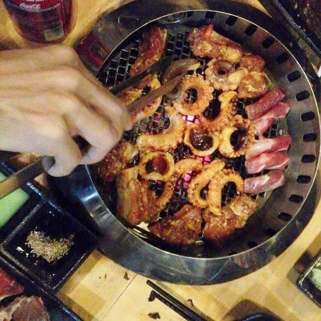 Buffet nướng của Little Pear tại Hana BBQ & Hot Pot Buffet - Điện Biên Phủ - 78693