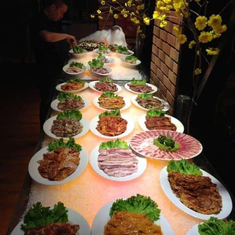Các hình ảnh được chụp tại Seoul Garden - Buffet Lẩu & Nướng - Trần Hưng Đạo