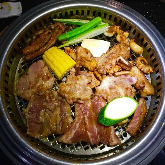 Buffet thịt nướng của Phương Jathena tại King BBQ - Cao Thắng - 109591