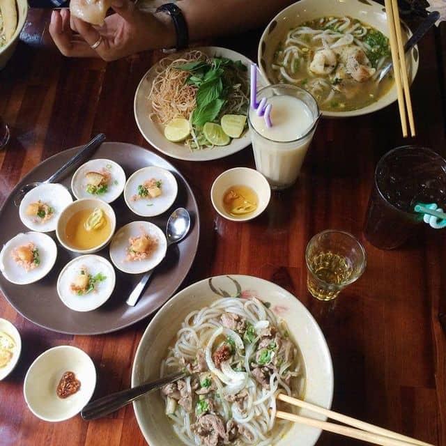 bún bò - bánh canh - bánh huế của Bình Le Nguyễn tại Bún Bò Mô Tê - Trần Nhật Duật - 107068