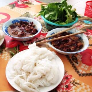 Bún chả  của lunalinh293 tại 245 Trần Hưng Đạo, Phường Đề Thám, Thành Phố Thái Bình, Thái Bình - 448857