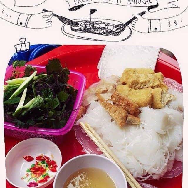 Bún đậu thịt chả cốm của Trang Nguyễn tại Trường THPT Thăng Long - 70191