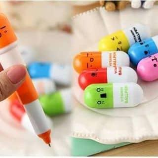 Bút hình viên thuốc đây giá 10k 1 em còn 2 màu vàng đỏ mua nhanh kẻo hết .....! của quynhssdiemss tại Kiên Giang - 1769049