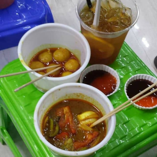 Cá viên cari hongkong , phá lấu bò hongkong của Phương Thanh tại Lê Gia - Hongkong Street Food - 138752