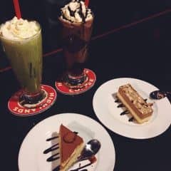 matcha & chocolate freeze ☺️