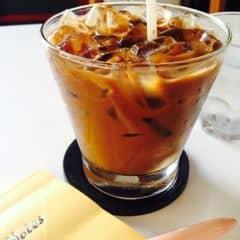 Món này tạm ổn cũng thơm nhưng chưa đậm đà mùi cafe lắm. Nhưng như vậy là khá rẻ cho 1 ly cafe. Được cái nhân viên thân thiện, vui vẻ lại còn có nhạc theo trào lưu nên tám chuyện hay ngồi chơi chơi cũng được tất. 😄😄😄