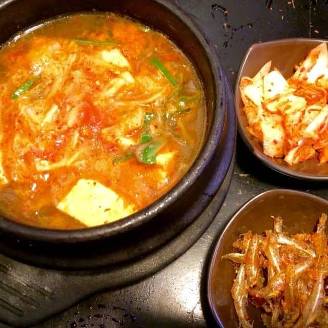 Canh kim chi của Thành Dê tại Hancook Korean Fast Food - 107782
