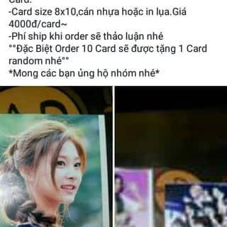 Card in tyc, ship TQ,  đủ sjze của oanhyoko tại 178 Nguyễn Gia Thiều, Thành Phố Bắc Ninh, Bắc Ninh - 1263995