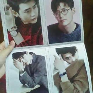 Card Lee Jong Suk Dạng cứng A5 ( 4 tấm ) của parkhm74 tại Hồ Chí Minh - 1445624