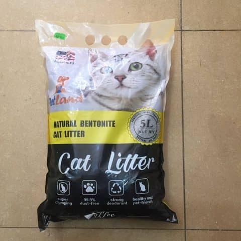 Cát vệ sinh cho mèo Litter 5L hương Cafe meocun.com