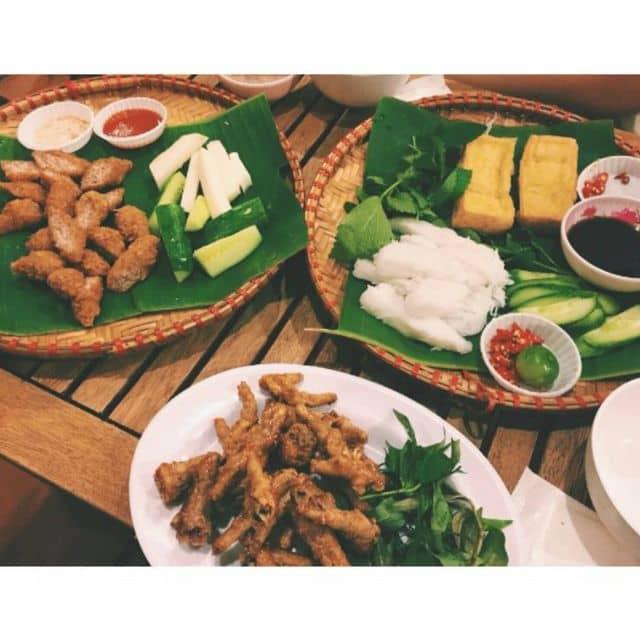 chân gà muối chiên, nem chua rán, bún đậu của Linh Ánh tại Cửa Hàng Ăn Uống 176 - 137892